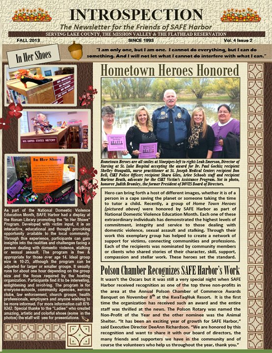 SH-Newsletter-Fall-2013